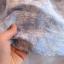 PreOrderคนอ้วน - เซตคู่ แฟชั่นคนอ้วน ไซส์ใหญ่ เสื้อ-กระโปรง เสื้อแขนสี่ส่วน แต่งลูกไม้ที่คอ แขนและชายเสื้อสีขาว กระโปรงผ้าพิมพ์ลายสีฟ้า thumbnail 7