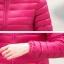 PreOrderคนอ้วน - เสื้อกันหนาวแฟชั่น ผ้าร่ม กันหิมะ กันลม สี : ดำ / ไวน์แดง / กุหลาบ / ม่วง / บานเย็น / เขียว / ส้ม / น้ำเงิน thumbnail 10