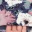 PreOrderคนอ้วน - เสื้อ-เดรสแฟชั่นคนอ้วน ไซส์ใหญ่ ผ้าพิมพ์ลายดอกไม้ แขนสั้น เปิดไหล่ สบาย ๆ thumbnail 7