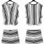 PreOrder - ชุดเซตคู่เสื้อ กางเกงขาสั้น เสื้อคอวีแบบทันสมัย ลายผ้าแบบเดียวกันกับกางเกง อินเทรนแน่นอน thumbnail 2