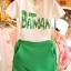 ##พร้อมส่ง## เซตคู่ เสื้อกางเกงกระโปรงแฟชั่น ทั้งไซส์ใหญ่ ไซส์เล็ก เสื้อแขนสั้นเย็บBatman กางเกงขาสั้นดีไซส์ทันสมัย สี : ขาวเขียว thumbnail 3