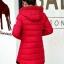 PreOrderคนอ้วน - เสื้อกันหนาว ผ้าฝ้าย บุนวมกันลม มีHood สี : ชมพู / แดง / ดำ / เทา / ครีม / น้ำเงิน / ม่วง thumbnail 7