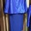 ผ้าไหมสังเคราะห์ทอเครื่อง ตัดชุดโทนสีฟ้าและน้ำเงิน thumbnail 18
