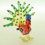 นกยูงแก้วเป่า Glass Figurine Peacock thumbnail 5