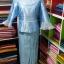 ผ้าไหมสังเคราะห์ทอเครื่อง ตัดชุดโทนสีฟ้าและน้ำเงิน thumbnail 21