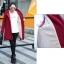 PreOrderคนอ้วน - เสื้อกันหนาว ผ้าฝ้ายโพลิเอสเตอร์ บุหนังสัตว์ สี : ไวน์แดง / ดำ / เหลือง / ม่วง thumbnail 4