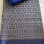 ผ้าไหมสังเคราะห์ทอเครื่อง ตัดชุดโทนสีฟ้าและน้ำเงิน thumbnail 11