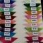 ผ้าไหมสังเคราะห์ทอเครื่องสีพื้น Plain Synthetic Silk thumbnail 2