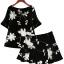 PreOrderไซส์ใหญ่ - เซตคู่เสื้อกระโปรงไซส์ใหญ่ คนอ้วน เสื้อ กระโปรง ปักดอกไม้ สไตล์วินเทจ สี : สีขาว / สีดำ thumbnail 2
