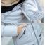 PreOrderคนอ้วน - เสื้อกันหนาว ผ้าฝ้าย บุนวมกันลม มีHood สี : ชมพู / แดง / ดำ / เทา / ครีม / น้ำเงิน / ม่วง thumbnail 9