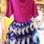 PreOrderไซส์ใหญ่ - เซตคู่ ไซส์ใหญ่ คนอ้วน เสื้อกระโปรง แยกชิ้น ผ้าฝ้าย กระโปรงชีฟองพิมพ์ลาย สวยงาม (แยกชิ้น-ไซส์ได้ ราคาตามระบุ) thumbnail 1