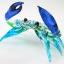 ปูแก้วเป่า Glass Figurine Crab thumbnail 5