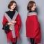 PreOrderเสื้อผ้าคนอ้วน - เสื้อคลุมกันหนาว ไฮโซ หรู ๆ สี : เทา / ดำ / แดง / ฟ้า thumbnail 3