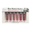 A1-036 The Balm Meet Matte Hughes 6 mini Long Lasting Liquid Lipstick Set **Limited Edition** Meet Matt(e) Hughes 6 Mini Long-Lasting Liquid Lipsticks by The Balm มินิ เซทลิปสติก เนื้อแมท