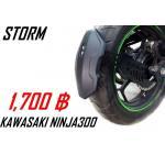 กันดันดีด Z300-Ninja300 ขาเดียว (Storm)