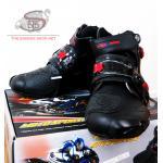 รองเท้า PRO-BIKER รุ่นสลิง ข้อสั้น #สีดำตามภาพ