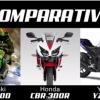มาดูกันชัดๆ Comparativo Ninja 300 vs CBR300R vs YZF-R25