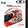 หมวกกันน็อค K-racing รุ่น Venom Simone Corsi