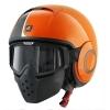 หมวกกันน็อค SHARK Raw (STRIPE Orange Black Orange) สีส้มคาดดำ