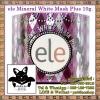ele Mineral White Mask Plus 10 g. : แอลลี่ ครีมมาส์ค น้ำแร่ถ่านขาว วิตามินพอกหน้าแบบเร่งด่วน ยกกระชับปรับสีผิวฟื้นฟูสภาพผิวหน้าเสื่อมโทรม ไร้ริ้วรอยชั่วข้ามคืน