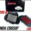 กรองใยผ้าสังเคราะห์Hurricane for CB650F-CBR650R