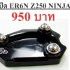 ตีนเป็ด ER6N,Z250,NINJA #สีดำ