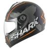 หมวกกันน็อค SHARK Pulse Division - S600 PINLOCK EXIT Mat Black orange antraci