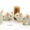 หนูเซรามิค Ceramic Rat Set