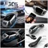 Bluetooth Car FM Transmitter Stereo Design BMW X5 2017 โฉบเฉี่ยวทันสมัยไฟสีฟ้า
