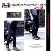 กางเกงยีนส์ uglyBROS Featherbed- UBS02 #สียีนต์ดำ