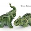 ช้างเซรามิค Set Ceramic Elephant Set