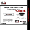 ท่อ Ninja250-300/Z250-300 Devil Slip on muffler D5M #22