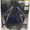 ยางกันลื่นข้าง Kawasaki Z900 GRIPTANK (สีดำเส้นน้ำเงินขาว)
