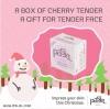 PJ102 พาสเจล Pasjel Cherry tender night facial [สีชมพู] 10 g. ครีมทาหน้า ตอนกลางคืน สำหรับปัญหา สิว ฝ้า
