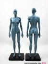 [ผู้หญิง] แบบจำลองร่างกายมนุษย์สูง30เซน (สีเทา)