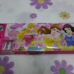 กล่องดินสอแม่เหล็ก เจ้าหญิง princess#3 มีกบเหลาในตัว