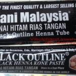 Rani Malaysia Black Outline Henna Tube เฮนน่าเพ้นท์ตัวสีดำ