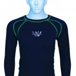 เสื้อซัพ กัน UV Inner Shirt Working Wicking (สีเขียว)