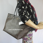 กระเป๋า Coach F34104 IMMA8 Signature Street Zip Tote in Dark Brown/ IMMA8