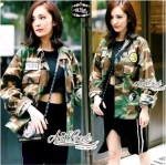 Style camouflage jacket windbreaker by Aris Code