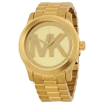 Pre-Order นาฬิกา Michael Kors Quartz Gold-tone Bracelet Champagne Dial Ladies Watch MK5473