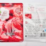 Fruit Obsession-Moisturizing Mask Sheet มาร์คหน้าผลไม้ (ราสเบอรี่)
