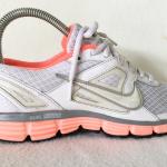รองเท้าผ้าใบ Nike Dual Fusion St สีขาว-ส้ม เบอร์ 36.5