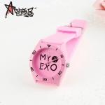 นาฬิกาข้อมือ EXO สีชมพู