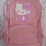 """กระเป๋าเป้สะพายหลัง คิตตี้ kitty size 16"""" : กว้าง 15 ซม. * ยาว 28 ซม. * สูง 42 ซม."""
