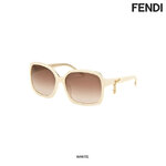 แว่นตา Fendi Women's Fashion Sunglasses - White