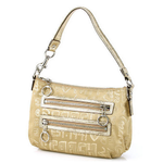 กระเป๋า Coach 44088 Poppy Gold Sateen Handbag