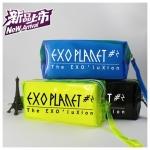 *พร้อมส่ง* กระเป๋าเครืองเขียน EXO สีน้ำเงิน