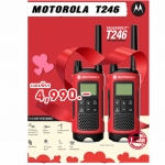 Motorola วิทยุสื่อสาร Talkabout T246 แพ็คคู่