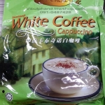 GOLD CHOICE: Instant White Coffee Cappuccino